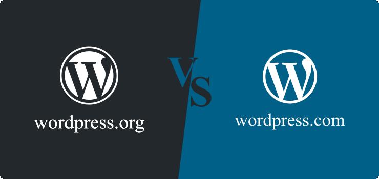 wordpress.org x wordpress.com