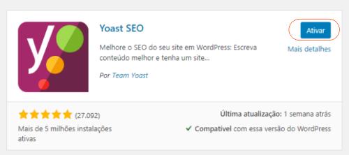 Plugins WordPress Yoast SEO