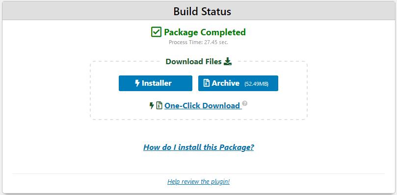 Fazendo o Download do backup antes de migrar o WordPress