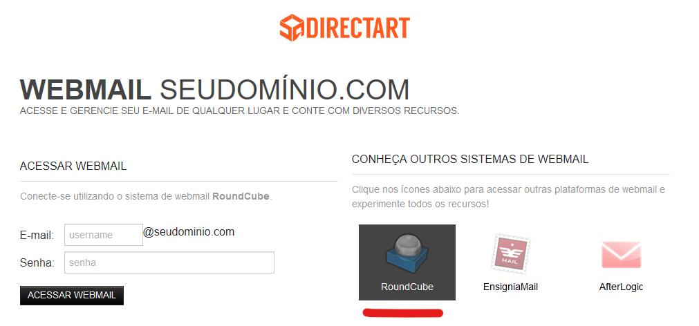 login webmail directart